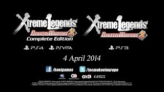 Dynasty Warriors 8: Xtreme Legends (PS4/VITA) Complete Edition Video