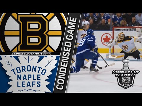 04/19/18 First Round, Gm4: Bruins @ Maple Leafs
