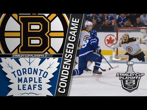 04/19/18 First Round, Gm4: Bruins @ Maple Leafs