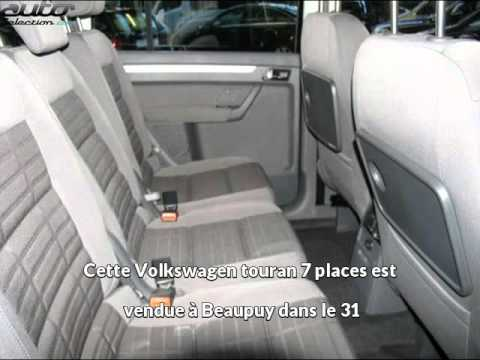 auto excellence pr sente une volkswagen touran 7 places. Black Bedroom Furniture Sets. Home Design Ideas