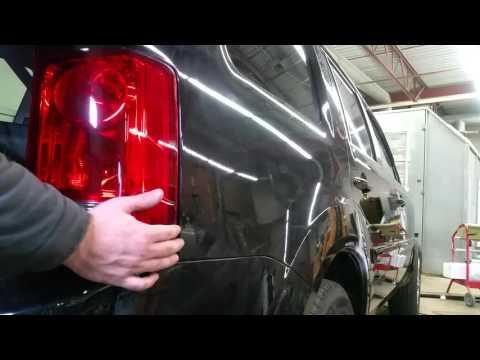 How to replace rear taillight, brake light bulb, turn signal bulb, on a 2009-2015 HONDA PILOT