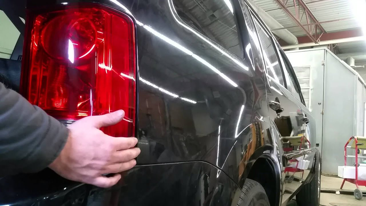 How to replace rear taillight, brake light bulb, turn ...