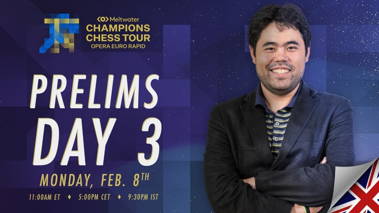 Download $1.5M Meltwater Champions Chess Tour: Opera Euro Rapid | Day 3 | Commentary by P.  Leko & T. Sachdev
