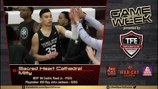 GetSportsFocus Game of the Week   Sacred Heart Cathedral vs Mitty