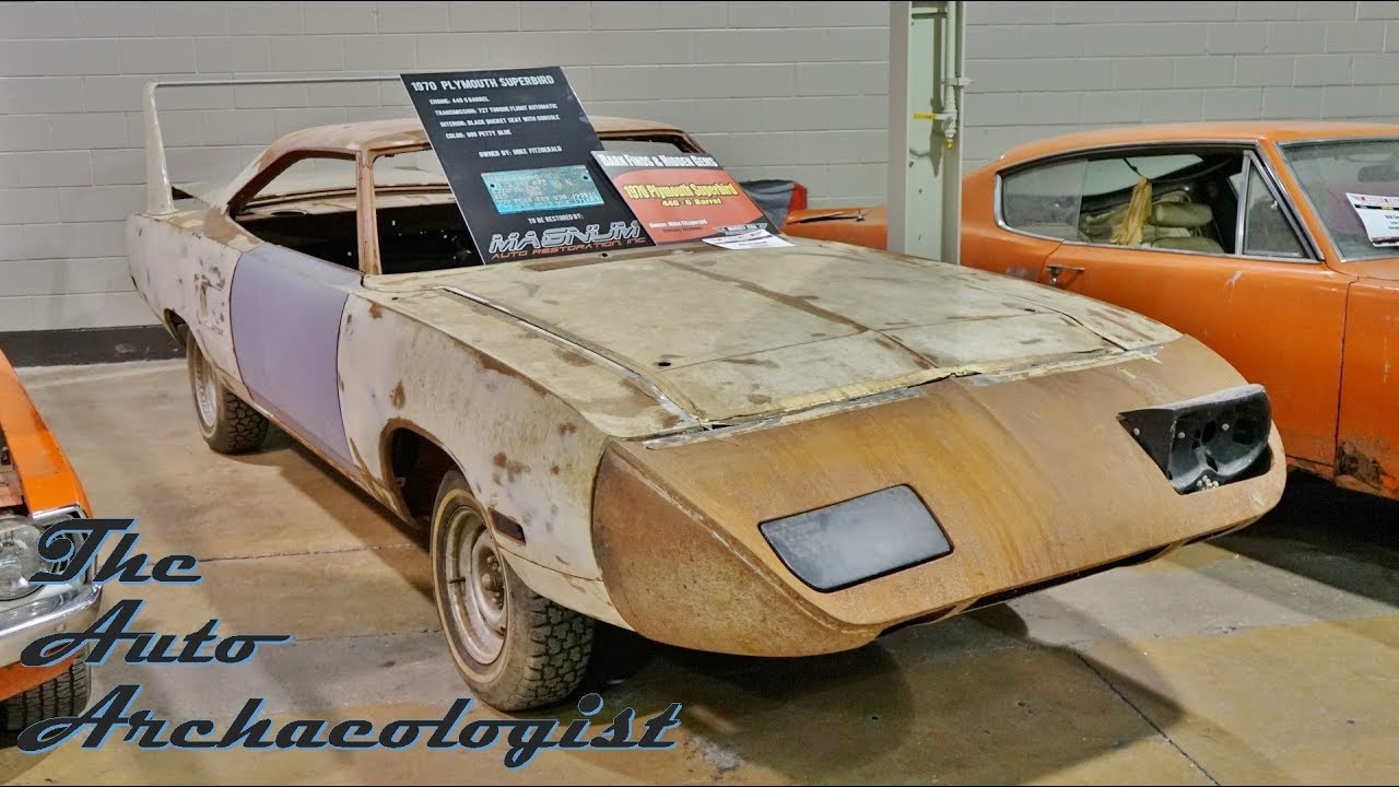MCACN Barn Finds RARE Superbird Find