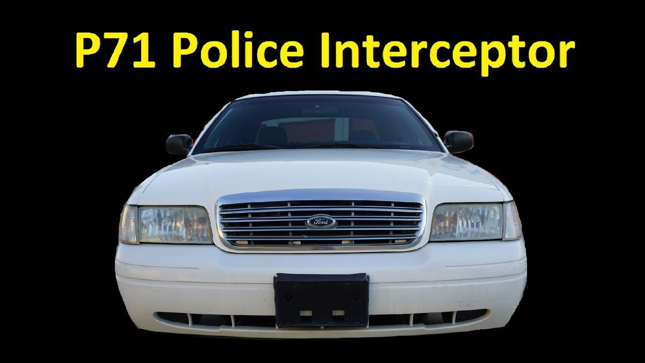 purchase used p 71 police interceptor pkg
