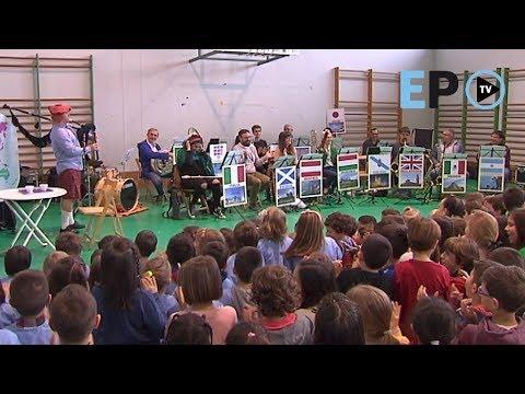 La Banda de Música ofrece un concierto en el CEIP Anexa