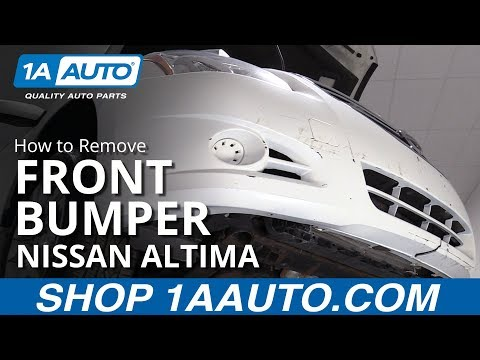 How to Remove Bumper 06-12 Nissan Altima