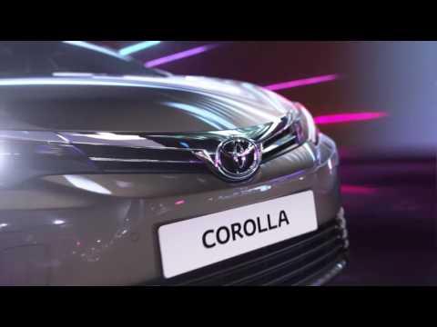 Toyota Corolla. Τεχνολογία ένα βήμα μπροστά.