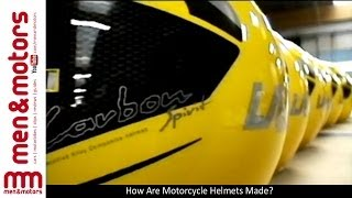 How Are Motorcycle Helmets Made?