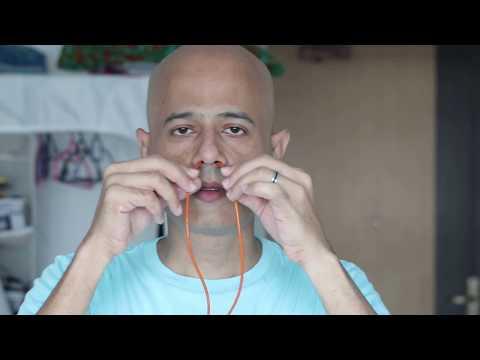 Sutra Neti Both Nostril Prashant Patel singapore Ancient Yoga Academy