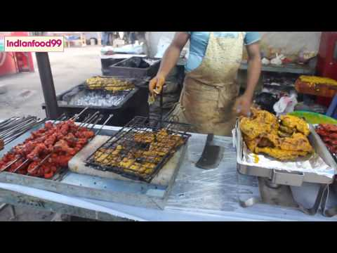 Mutton Chicken Beef Lamb Egg Quail Fish cooking - Non veg compilation - Indian street food