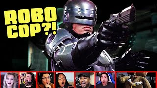 Reactors Reaction To Seeing ROBOCOP In Mortal Kombat 11 Aftermath Trailer | Mixed Reactions (MK11)