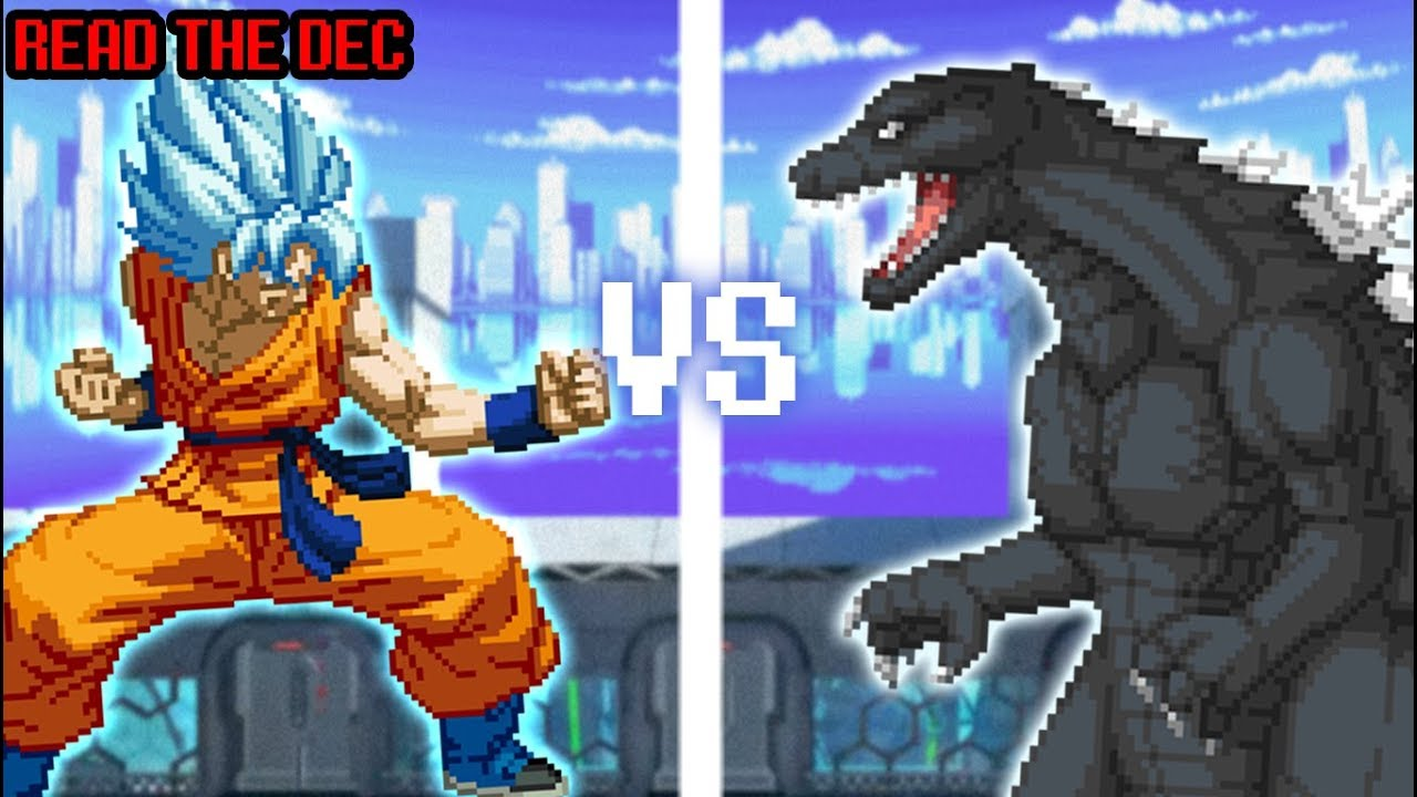 GOKU vs GODZILLA! Dragon Ball Super vs Godzilla Cartoon Fight Club Episode 216 - YouTube