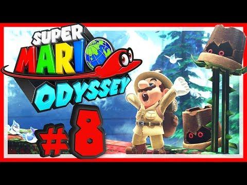 SUPER MARIO ODYSSEY # 08 🎩 Forstland Adventure-Time! [HD60] Let's Play Super Mario Odyssey