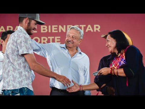 Programas Integrales de Bienestar' y Zona Libre de la Frontera Norte, desde Ojinaga, Chihuahua