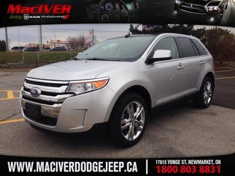 2011 Ford Edge Limited AWD | MacIver Dodge Jeep | Newmarket Ontario