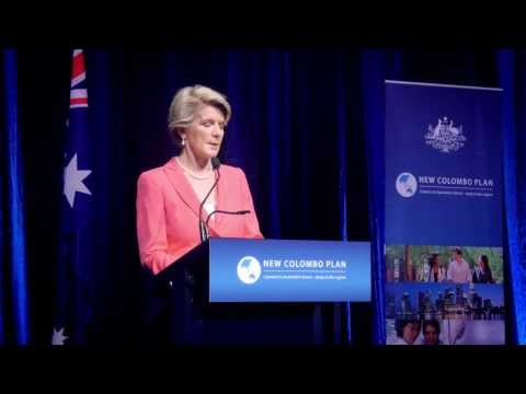 Official launch of the pilot of the New Colombo Plan 2014