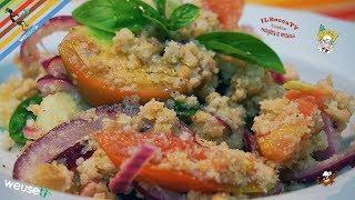 405 - Panzanella toscana...ecco un altro toccasana! (antica prelibatezza vegana facile e genuina)