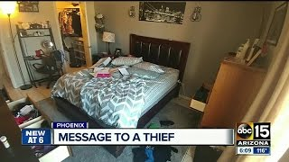 Woman desperate to find hard drive after home is burglarized