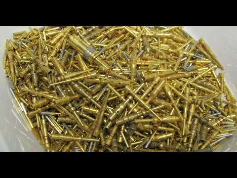 Gold Recovery Electronic Scrap Gold Plated Pins