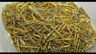 Repeat youtube video Gold Recovery Electronic Scrap Gold Plated Pins