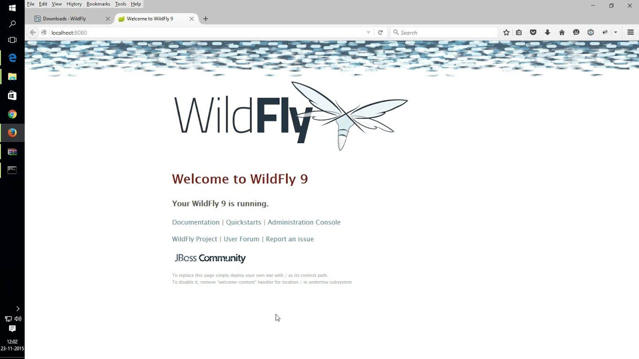 Install Wildfly Application Server On Windows