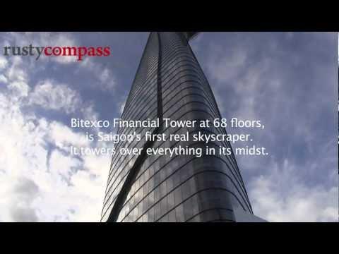 Saigon's tallest building - Bitexco Financial Tower