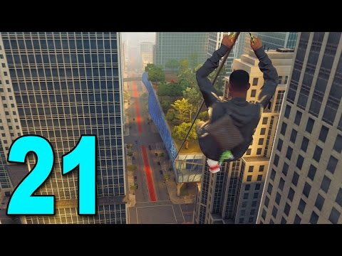 Watch Dogs 2 - Part 21 - INSANE ZIPLINE ESCAPE!
