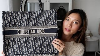 Dior Book Tote Bag 開箱& REVIEW | Dior Book Tote Unboxing & Review