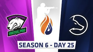 ECS Season 6 Day 25 Virtus.pro vs LDLC - Mirage