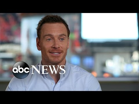 Michael Fassbender Interview on Working With Alicia Vikander