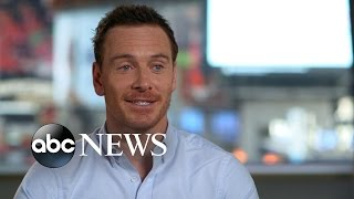 Michael Fassbender Interview on Working With Alicia Vikander thumbnail