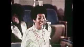 Young Aretha Franklin performs Climbing Higher Mountains in Church & Her Father's Proclaims!