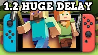 Minecraft SWITCH 1.2 - HUGE UPDATE DELAY
