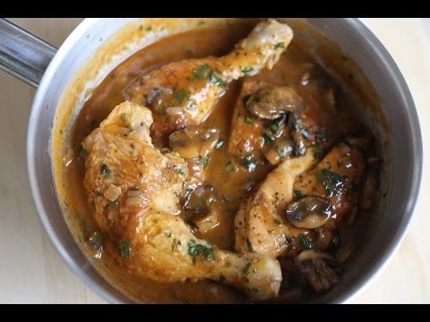 Hunters Chicken Recipe – Chicken Chasseur By the French Cooking Academy