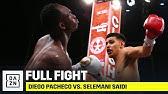 FULL FIGHT | Diego Pacheco Viciously KOs Selemani Saidi