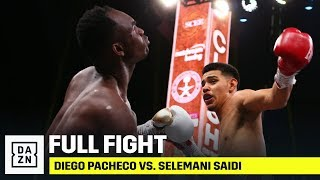 FULL FIGHT | Diego Pacheco Viciously KOs Selemani Saidi