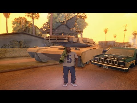 GTA San Andreas REMASTERED With GTA 5 Graphics!