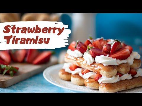 strawberry-tiramisu-||-tiramisu-fraise-facile-||-easy-crave