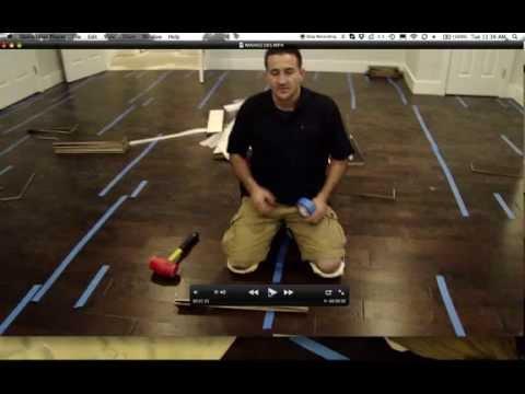 Install a Glue down Engineered hardwood Floor