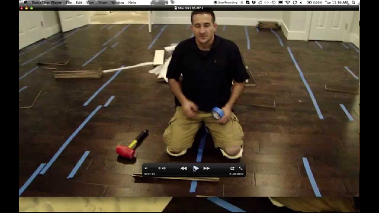 Install A Glue Down Engineered Hardwood Floor