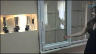 Тёплая пластиковая раздвижная система от Окна Проект