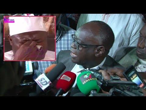 Vidéo – Urgent – Section de recherche: Boughazeli en garde à vue (Me El Hadji Diouf)