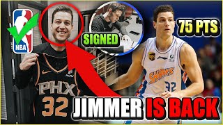 Why JIMMER FREDETTE Is In The PERFECT Situation To Make An NBA COMEBACK!