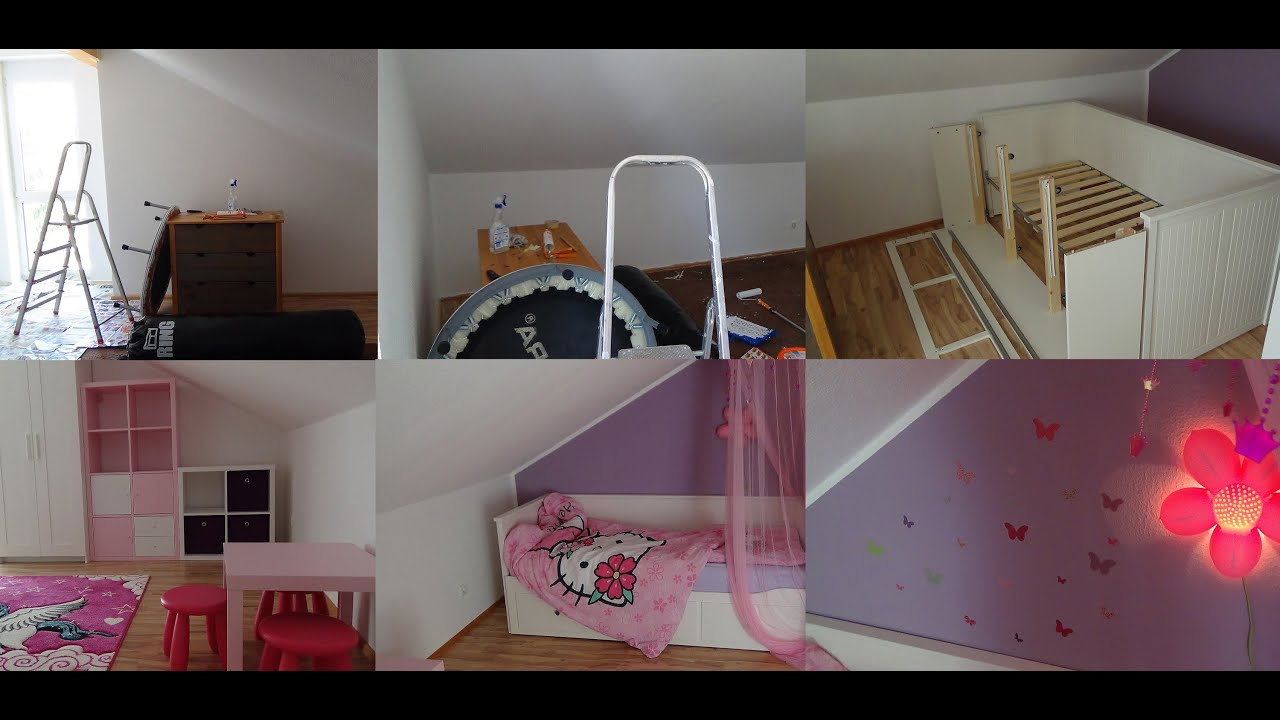 Ikea Flaxa Headboard Reviews ~ IKEA Kinderzimmer Roomtour  Mädchenzimmer  Jugendzimmer  YouTube