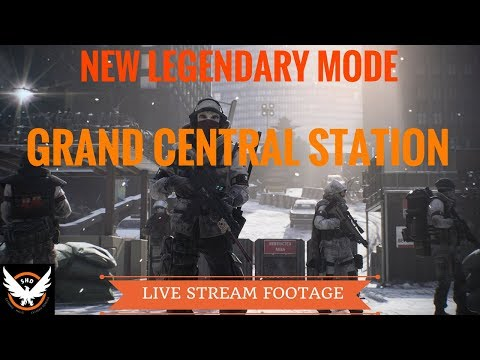 The Division - New Legendary Grand Central Station Mission