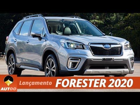 Subaru Forester 2020 A Quinta Geracao Do Modelo Chega Ao Brasil Youtube