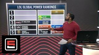 League of Legends Season 8 Spring Split global power rankings  | Esports | ESPN
