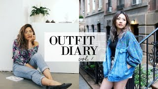 Outfit Diary Vol. I | End of Summer in NYC Lookbook